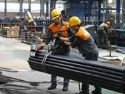 Sector siderúrgico de Vietnam creceió 24 por ciento en primeros nueve meses de 2017