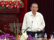 Vicepremier vietnamita reitera determinación en lucha anticorrupción