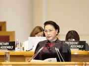 Presidenta de Asamblea Nacional de Vietnam visita Kazajstán