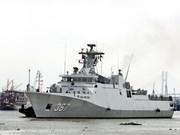Flotilla de la Armada indonesia visita puerto de Ciudad Ho Chi Minh