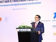 Vicepremier de Vietnam destaca oportunidades comerciales de las TIC