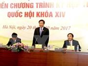 Celebrarán cuarto período de sesiones del Parlamento de Vietnam