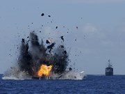 Indonesia hundirá a barcos extranjeros con actividades ilíticas por disuadir pesca ilegal