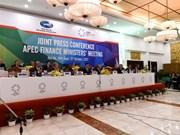 Cierra sus puertas la Reunión de Ministros de Finanzas del APEC