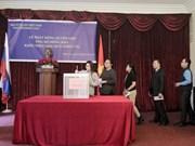 Embajada de Vietnam en Rusia recauda fondos para víctimas de inundaciones