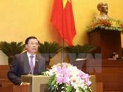 Presentan al Parlamento vietnamita informe sobre ejecucción presupuestaria en 2017