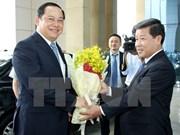 Vicepremier laosiano destaca desarrollo de provincia vietnamita de Binh Duong