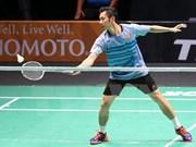 Badmintonista vietnamita competirá en el Abierto de Francia
