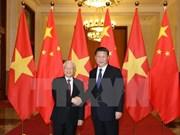 Vietnam felicita al secretario general del Partido Comunista de China