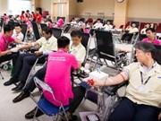 Siete mil jóvenes vietnamitas se unen a campaña de donación de sangre