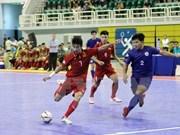 Vietnam golea a Filipinas en torneo sudesteasiático de fútbol sala