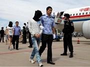 Camboya deporta a 61 sospechosos chinos de estafa telefónica por Internet