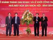 Grupo Hoa Sen finaliza primera fase de su mayor fábrica en Centro de Vietnam