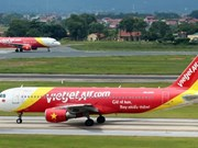 Vietjet Air ingresa 131 millones de dólares en nueve meses de 2017