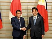 Japón y Filipinas cooperan en desarrollo infraestructural y lucha antiterrorista