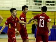 Vietnam se clasifica para Campeonato Asiático de Futsal 2018