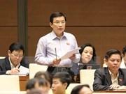Parlamento vietnamita debate sobre desarrollo socioeconómico y planes presupuestarios estatales