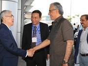 Presidente de Confederación Asiática de Fútbol visita Vietnam