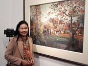 """Exposición pictórica """"Colores"""" resalta maravillas de Vietnam"""