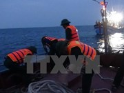 Rescatan a marineros vietnamitas accidentados en el mar