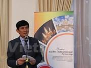 ASEAN e India celebran aniversario 25 de establecimiento de nexos bilaterales