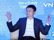 Premier vietnamita recibe a presidente del grupo chino Alibaba