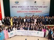 Inauguran Foro Voces del Futuro del APEC 2017 en ciudad vietnamita de Da Nang