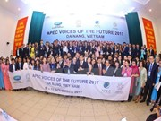 Buscan en Vietnam impulsar iniciativas de los jóvenes en el APEC