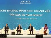 APEC 2017: Inician Cumbre Empresarial de Vietnam