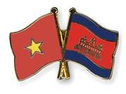 Diplomáticos vietnamitas felicitan a Camboya por Día de la Independencia