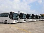 Ponen en servicios autobuses lanzadera para facilitar transportación de delegados en APEC 2017