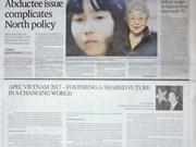 Publican periódicos internacionales artículo de presidente vietnamita sobre Cumbre del APEC