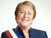 Inicia presidenta de Chile visita estatal a Vietnam