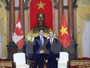 Presidente de Vietnam destaca visita del premier canadiense