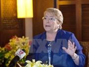 Bachelet: Unidos en su visión de APEC, Chile y Vietnam buscan fortalecer sus nexos bilaterales