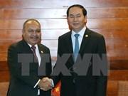 Vietnam respaldará celebración del APEC 2018 en Papúa Nueva Guinea