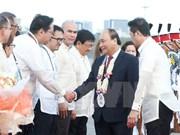 Premier de Vietnam llega a Filipinas para participar en la Cumbre de ASEAN