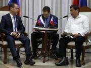 Filipinas y Rusia buscan ampliar intercambio comercial y cooperación en defensa