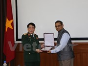 Vietnam e India promueven cooperación en defensa