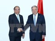 Premier vietnamita se reúne en Manila con líderes de ONU y Consejo Europeo