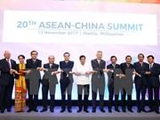China propone formulación de visión de asociación estratégica con ASEAN