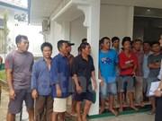 Indonesia abrirá juicio contra cinco pescadores vietnamitas