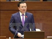 Ministro vietnamita de Planificación e Inversión comparece ante Parlamento
