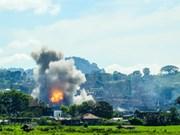 Filipinas considera prolongación de ley marcial en Mindanao