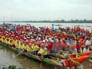 Celebran regata de comunidad Khmer en Vietnam