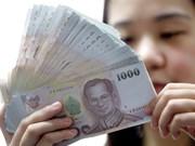 El bath de Tailandia alcanzó su mayor valor en 30 meses