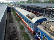 Inauguran servicio de ferrocarril de carga entre Hanoi y Jiangxi de China