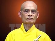 Venerable Thich Pho Tue reelegido como máximo dirigente de Sangha Budista de Vietnam