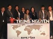 Grupo cafetero vietnamita Trung Nguyen inaugura oficina representativa en China