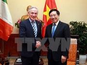 Vietnam e Irlanda por ampliar cooperación en sectores potenciales